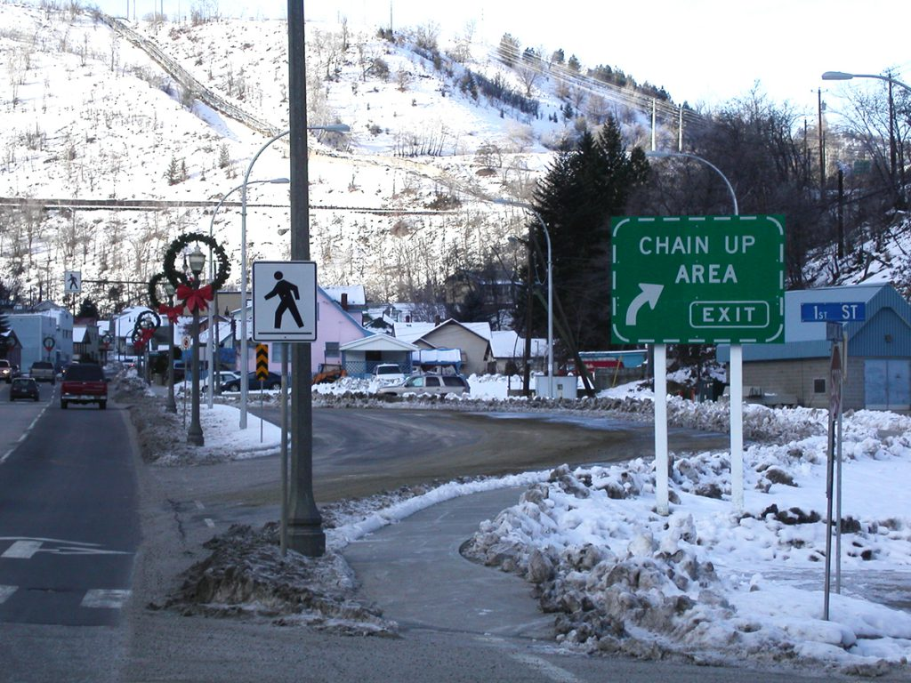 Chain Up Course - Winter Driving